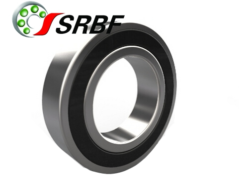 Sealed hybrid deep groove ball bearing